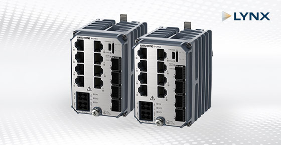 Westermo Lynx-5612 compact class 1 substation automation switches.