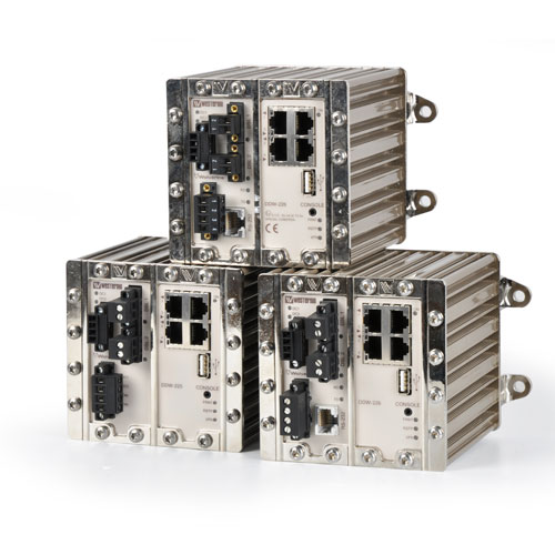 Industrial Managed Ethernet Extenders by Westermo.