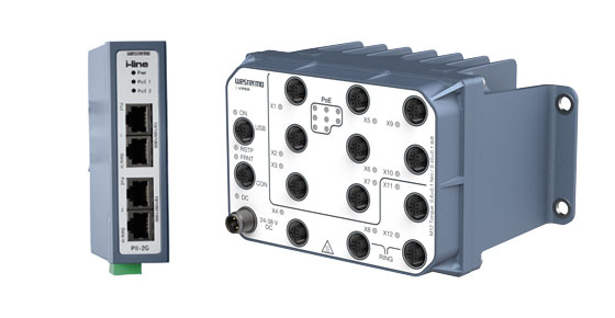 Industrial PoE Power over Ethernet Switches by Westermo.