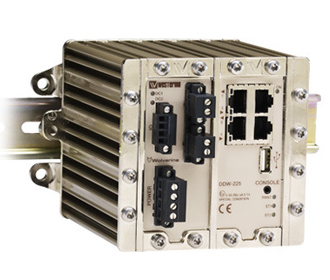 Industrial Redundant Ring Ethernet Extender DDW-225 by Westermo.