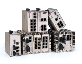 Industrial Ethernet Switches for edge networks.